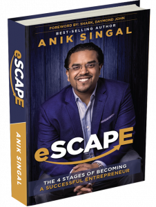 Anik Singal eScape book review